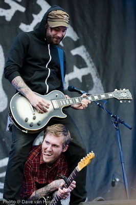 The Gaslight Anthem door Dave van Hout